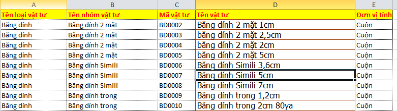 Soạn thảo Excel